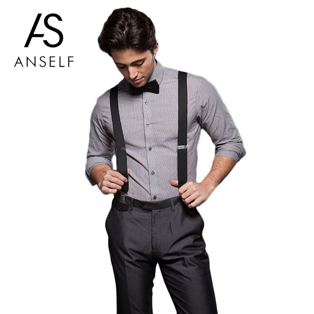 Colorful Suspender Adjustable Brace Clip-on Adjustable Unisex Men Women Pants Braces Straps Fully Elastic Y-back Suspender Belt