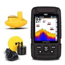 FF718LiCD 2,8 дюйма Цвет ЖК-дисплей Портативный Рыболокаторы 200 кГц/83 кГц двойной Частота Sonar 328ft/100 м глубина обнаружения finder (США Plug)