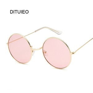 Small Round Sunglasses Women F