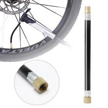 1pc MTB Fiets Band Gas Valve Adapter Inflater Luchtpomp Extension Buis 1PC Bike Pomp Extension Slang buis Pijp Koord Fiets Pu(China)