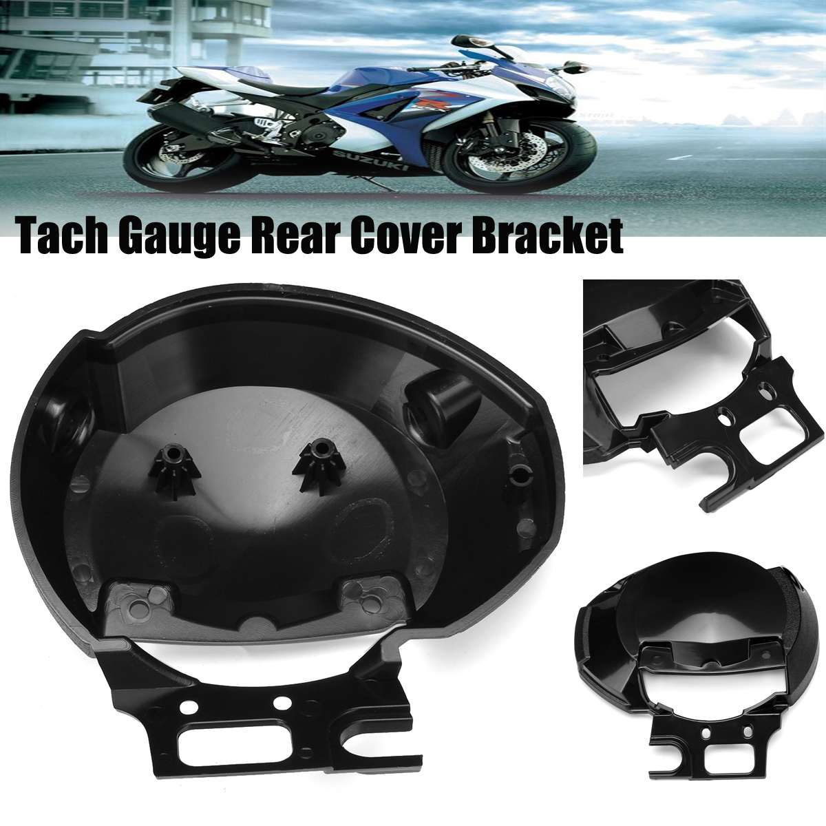 Motorcycle SpeedoMeter Speed Tach Gauge Rear Case Cover Bracket For Yamaha FZ6 N 2004-2007  Instrument Meter Case