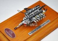 CMC 1/18 Масштаб модели 1956 Maserati 300 s деревянное основание двигателя сплав для модели игрушки Хобби Коллекционные Подарки Бесплатная доставка EMS