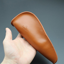 Bigben Soft Nature Real Leather Bag Clutch 1 Pipe Portable Travel Wood Tobacco Smoking Case/Pouch Tool Accessories