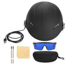 68 Diodes Hair Regrow Laser Helmet Fast Growth Treatment Cap Hair Loss Solution Treatment for