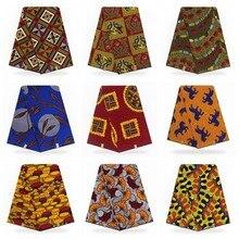 Африканская Анкара вышитая хлопковая ткань модный голландский Африканский вощеная ткань настоящий пагне Африканский Воск Голландский Настоящий