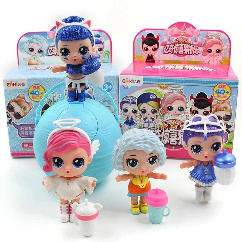 Original Genuine Diy Lol Doll Ball Kids Toy With Box Puzzle Toys