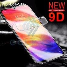 9D полностью Защитная Гидрогелевая мягкая пленка для Xiao mi Red mi 5 6 6A Pro Plus Note 4X5 A 6 Pro 7 mi F1 Play защита экрана не стекло