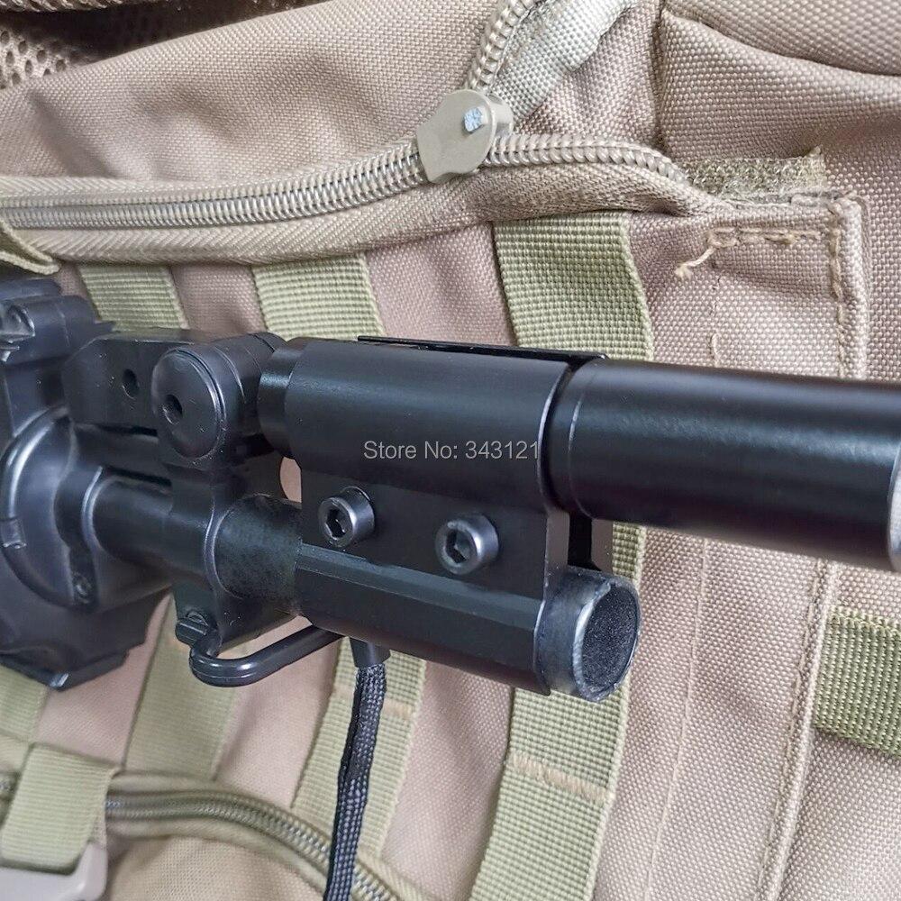 Adjustable Barrel Mount Scope Holder for Hunting Guns Flashlight Telescope YS