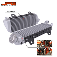 Motorcycle Engine Cooling Radiator Cooler For KTM SX XCW SXF EXCF XC XCF EXCF 125 150 250 300 350 450 500 Dirt Bike Motocross