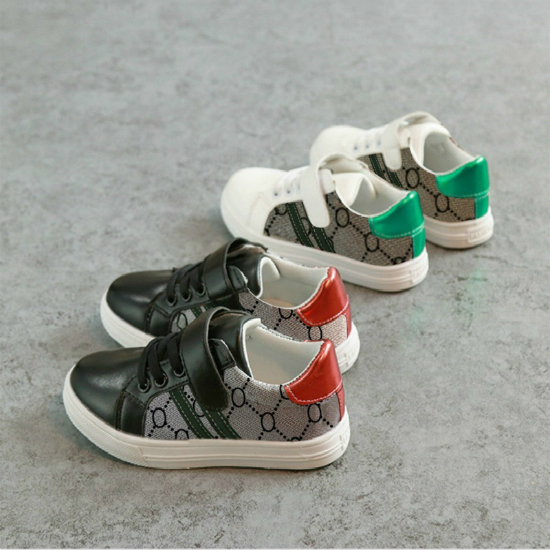 2019 Spring New Fashion Children's Casual Shoes Baby Breathable Comfortable Non-slip Wear-resisting Small White Shoes
