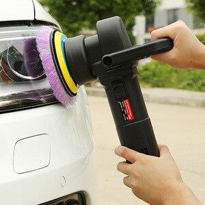 Image 5 - 6 pouces tampons tampons voiture automobile tampons voiture accessoires lavage laine polissage Auto voitures détaillant épilation outils voitures polissage