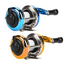 DEUKO Mini Drum Fishing Weel Portable Winter Ice Fishing Reel Wheel with Wire Outdoor Casting Tackle Fishng Accessories(China)