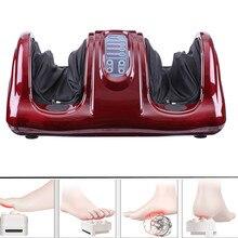 цена на New Foot Care Massager Electric Heating Shiatsu Kneading Roller Vibrator Machine Reflexology Calf Foot Leg Pain Relief And Relax