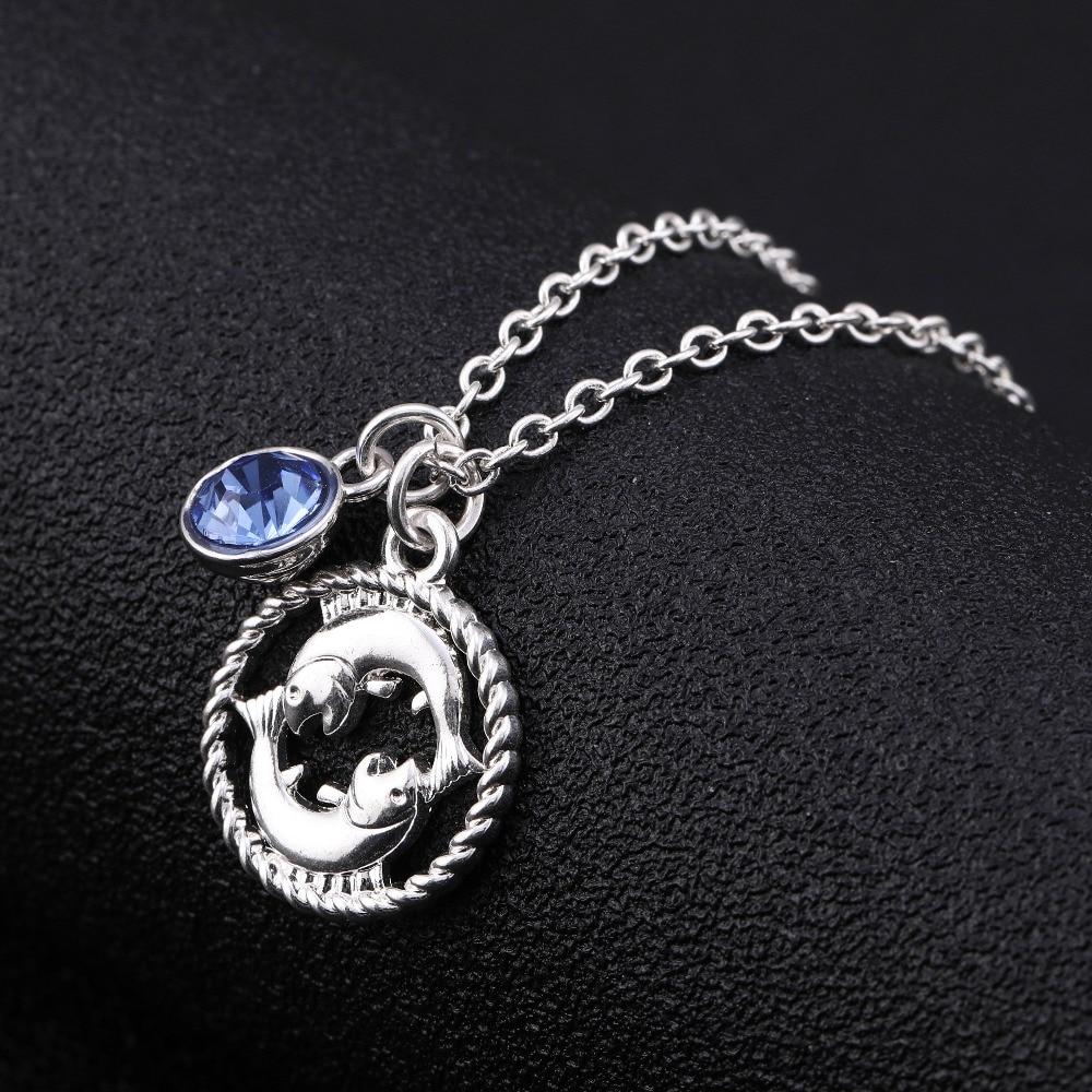 Ожерелье с 12 знаками Зодиака для женщин и девочек