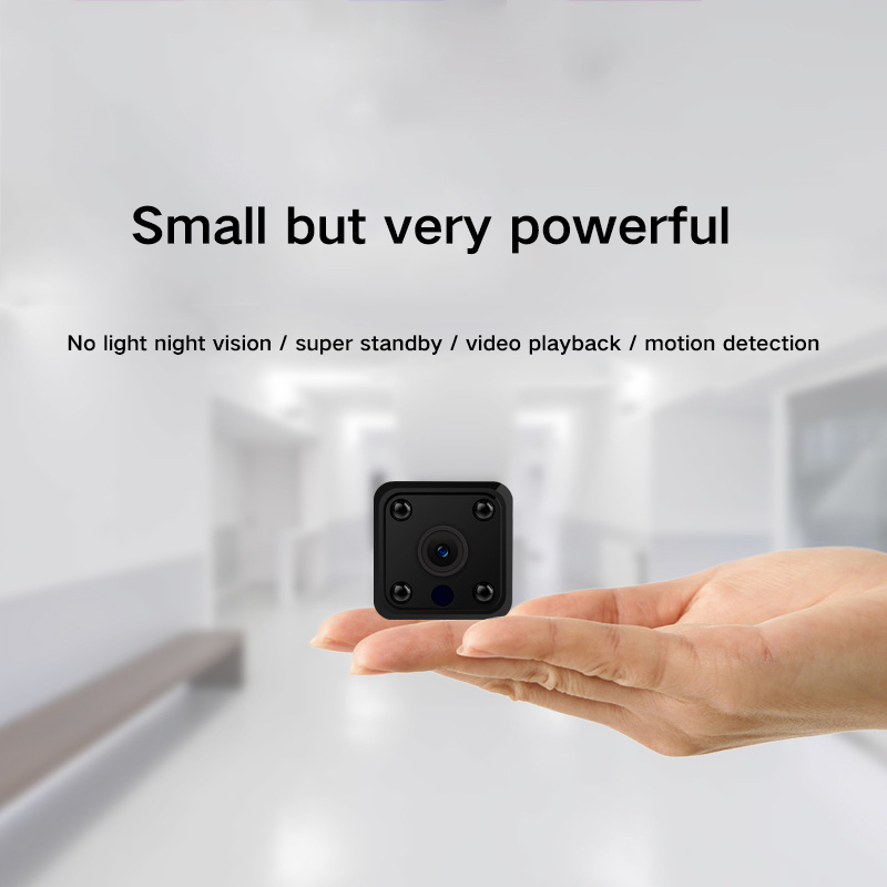 1080P HD Mini WIFI IP Camera Mini Security Camera Night Vision Motion Detect Mini Camcorder Loop Video Recorder Built-in Battery