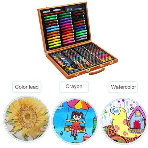 aprendizagem kit papelaria das criancas