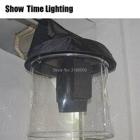 Czas na show 10 sztuk/partia wiązki ruchome osłona przeciwdeszczowa światło sceniczne deszcz płaszcz na śnieg Beam350 230 wodoodporne osłony przezroczysty kryształ z tworzywa sztucznego w Oświetlenie sceniczne od Lampy i oświetlenie na