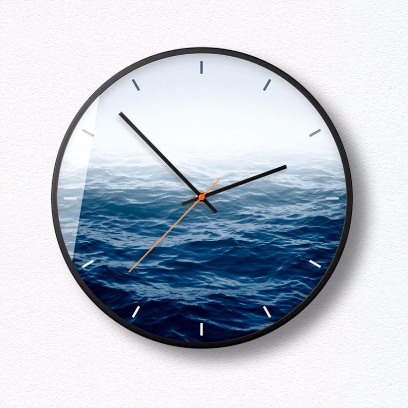 New 3D Wall Clock 12inch/14inch HD Wall Clock Modern Design Quartz Super Silent Precise Sweep Duvar Saati Large Size For Home