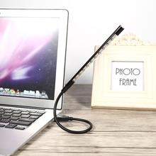 5V Flexible Mini USB LED Reading Light Table Desk Night Lamp Flashlight For Laptop PC Computer Keyboard Flexible Laptop Lamp