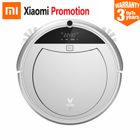 New Original Xiaomi Viomi Robot Vacuum Cleaner LCD Auto Sweeping Dust Remote Control Path Planning Smart Wireless Vacuum Cleaner