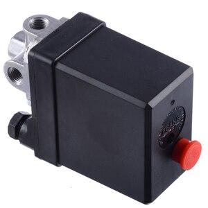 Image 5 - Mayitr 3 phase الثقيلة ضاغط الهواء مفتاح ضغط صمام التحكم مفتاح ضغط مكبس جزء 380/400 فولت