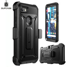Phone Cover For Google Pixel 3 Case SUPCASE UB Pro Series Full Body Rugged Holster Clip Case with Built in Screen Protector