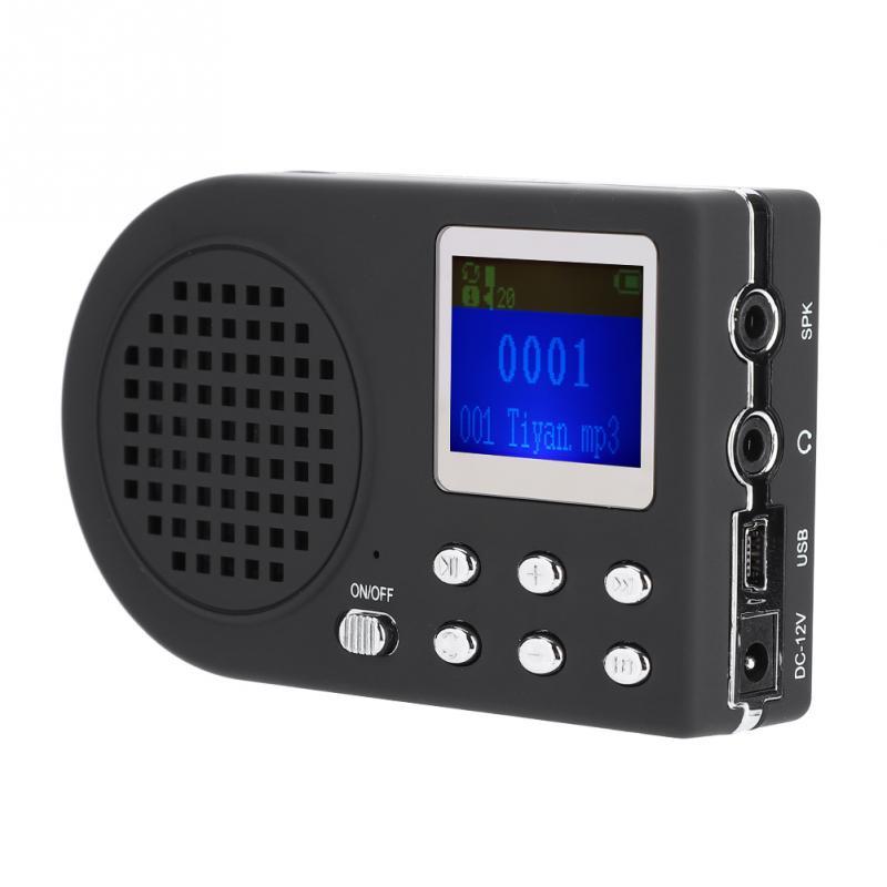 Outdoor Hunting Lure MP3 Birds Caller Sound Player Calls Loud Speaker Amplifier
