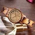 Reloj femenino novo design relógio de madeira feminino pequeno ponteiro de ouro antigo luxo feminino delgado banda relógio senhora presente transporte da gota