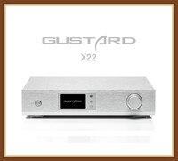 Gustard DAC-X22 es9038pro i2s xmos alta fidelidade dac pcm384k dsd512 dop decodificador