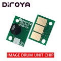 4 шт. DR-512K DR512 CMY барабан чип для Konica Minolta Bizhub C224 C224e C284 C364 C454 C554 Перезагрузка чипа картриджа