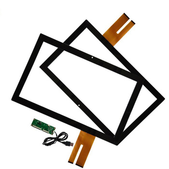 For 18.5inch 457*277MM multi touch G+G Digitizer Touch Screen Panel Capacitive Sensor  + USB EETI control card