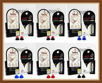 Sinfit-auriculares internos de silicona patentada, 1 par, 2 uds.