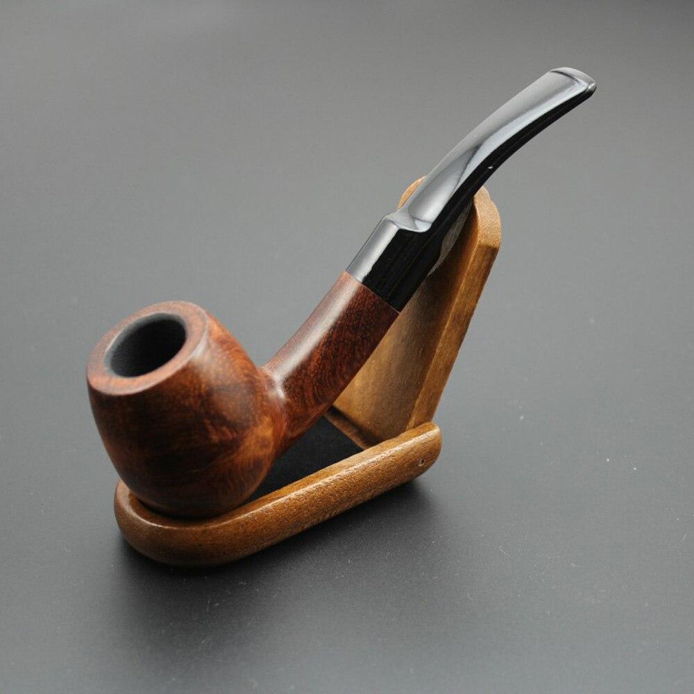 Handmade Wooden Tobacco Smoking Pipe Natural Rose Wood Bowl Pipes 16Tools Set