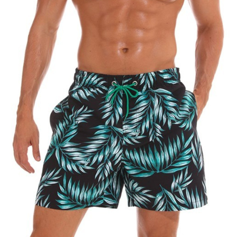 2019 Boardshorts Men Swim Shorts Beach Swimwear Trunks Mens Swimming Shorts Bermuda Surfing Board Bath Short Suit Lining Liner