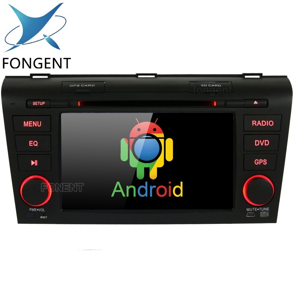 Android 9.0 Unit 2 din car radio tape recorder <font><b>multimedia</b></font> <font><b>For</b></font> <font><b>Mazda</b></font> <font><b>3</b></font> Mazda3 2004 2005 2006 <font><b>2007</b></font> 2008 2009 GPS Navigator stereo image