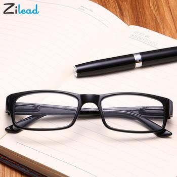 Zilead kobiety okulary do czytania dla mężczyzn wytrzymałość TR90 Ultralight materiał żywiczny dla kobiet mężczyzna do czytania składane okulary do czytania okulary do tanie i dobre opinie Lustro Unisex Przezroczysty Akrylowe Plastikowe tytanu L0800