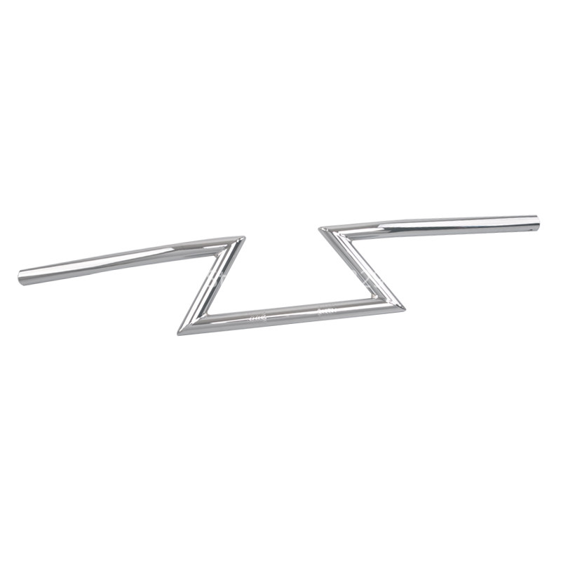 1 25 MM Chrome Aluminum Drag Bars Z Handlebars Controls Fits For Harley Hon da Ya
