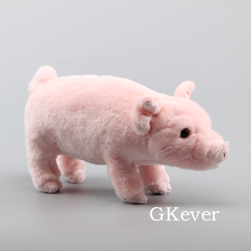 36 cm lifelike rosa porco pelucia brinquedo bonecas bonito rosa bonecas simulacao animal porco brinquedos criancas