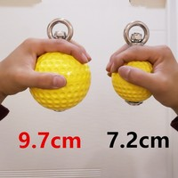 9.7 cm Pull Up Balls Cannonball Grips for Finger Trainer Grip Strength Training Arm Muscles Barbells Gym Hand Grip Ball A9272