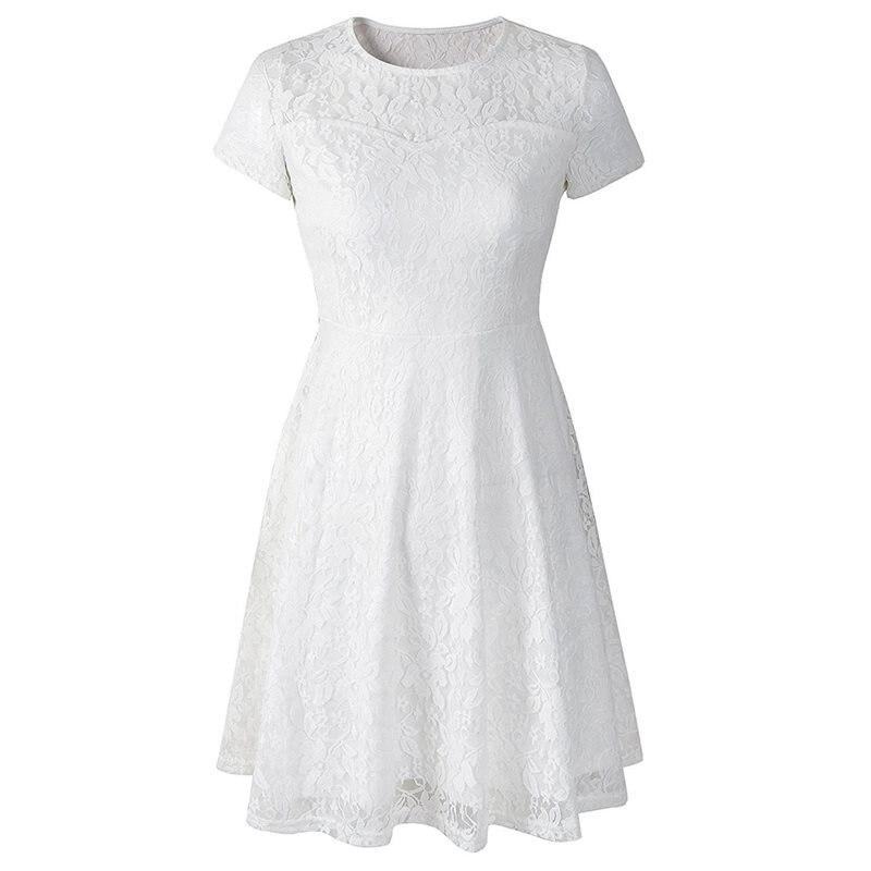 Белое кружевное платье Для женщин пикантные Открытые черные линии элегантный крюк цветок модный бренд синие женские вечерние вечерний шик ...
