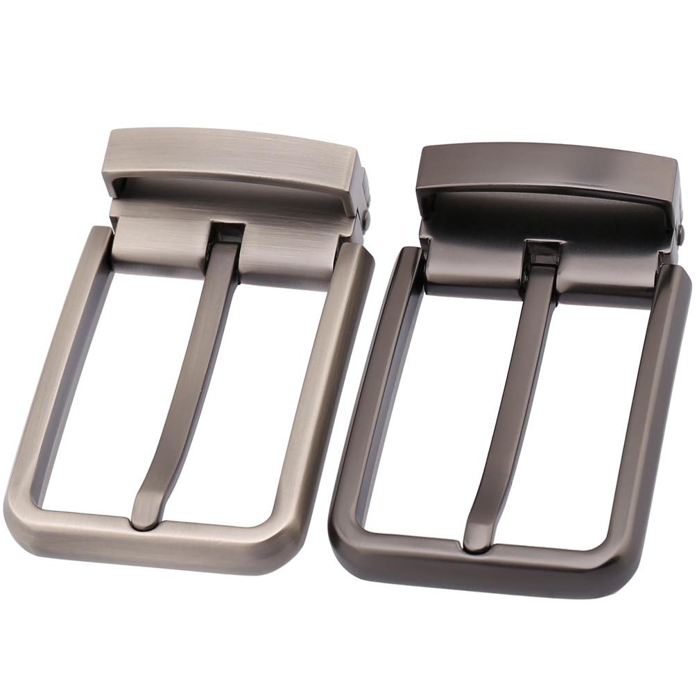 High Quality Men Belt Buckles Zinc Alloy Metal Pin Buckle For Belt 33-34mm DIY Leathercraft Jeans Accessories CE35-21746
