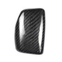 Lhd Real Carbon Fiber For Audi A4 S4 Rs4 B9 A5 S5 Rs5 Q5 Q7 2016 2017 2018 2019 At Car Styling Gear Shift Knob Head Cover Trim