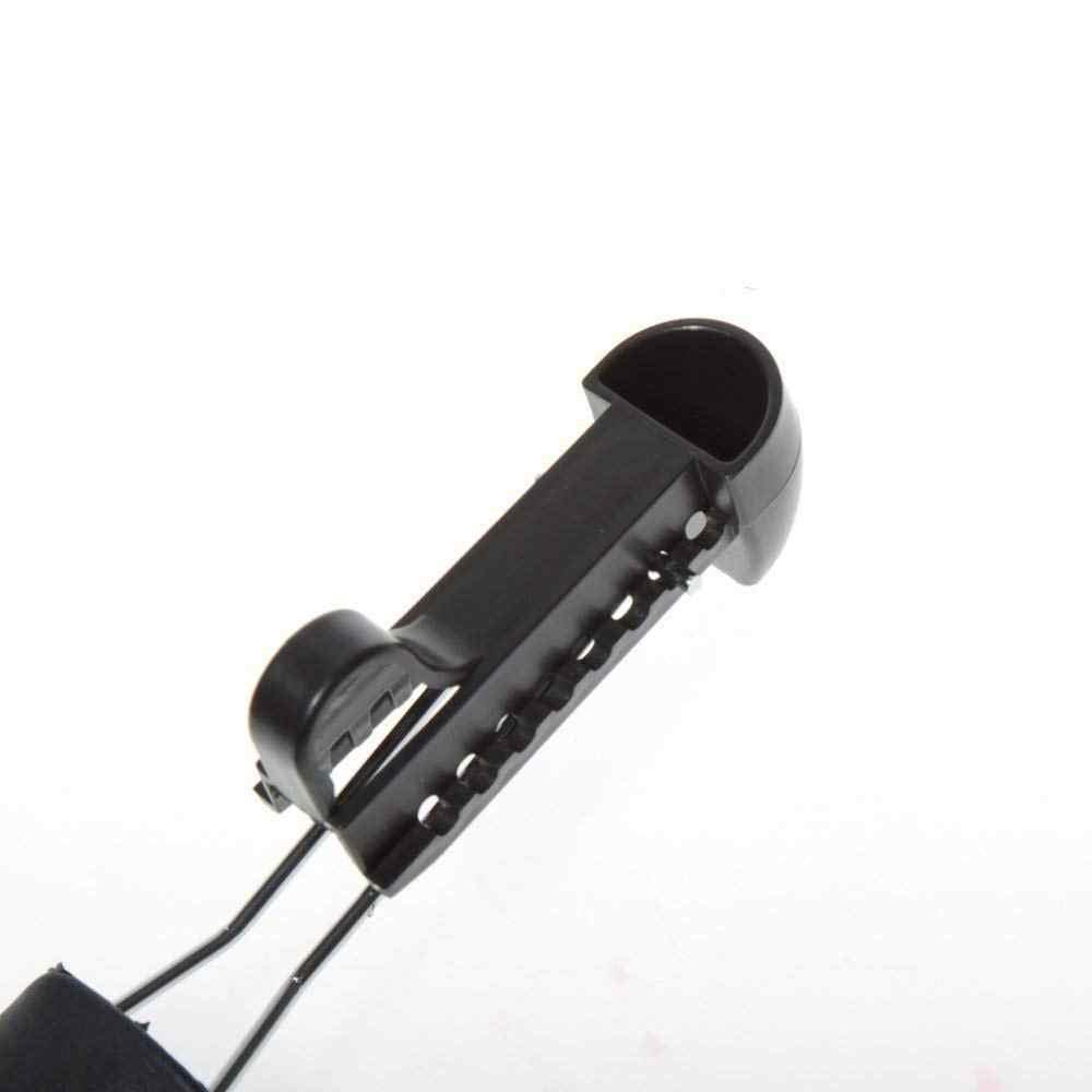 5 пар практичная Пластиковая регулируемая длина Мужская обувь Дерево Носилки Держатель обуви органайзеры (5 пар черный)