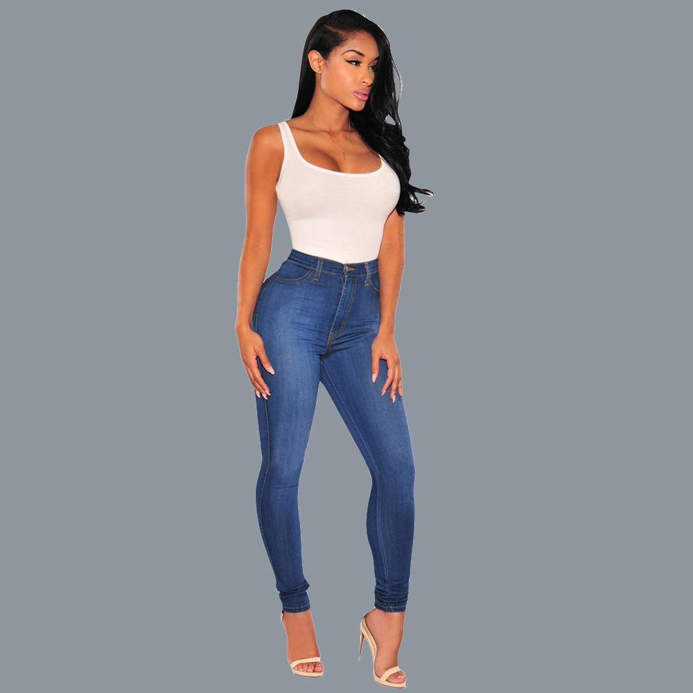 2019 Jeans of Women Boyfriend Hole Ripped Cool Denim Vintage Sexy Jeans Female Casual Pants Slim Stretch Jeans Plus Size