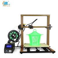 Creality3D CR 10S4 увеличенные 3D DIY настольным принтером комплект поддерживает SD карты off line Печать Высокая точность 400x400x400 мм