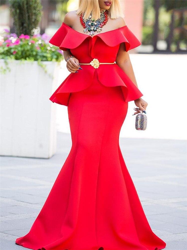 Женское Макси-вечернее платье из двух частей, сексуальные, гофрированные, облегающие, элегантные, вечерние, вечерние, Клубные, длинные, обле...