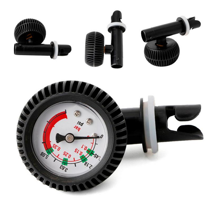Air Pressure Gauge Barometer Air Thermometer Air Valve For Inflatable Kayak Surfboard Inflator Pump Boat Marine Accessories