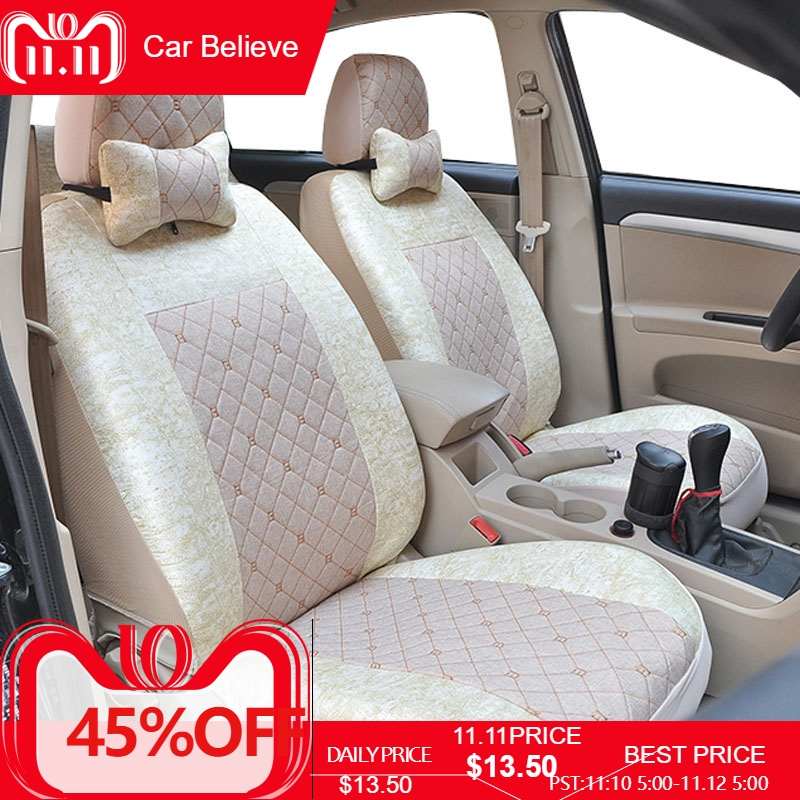 Car Believe Auto Leather car seat cover For suzuki grand vitara jimny swift sx4 baleno accessories covers for vehicle seats car seat cover automotive seats covers for suzuki escudo grand vitara kizashi lgnis liana vitara of 2017 2013 2012 2011