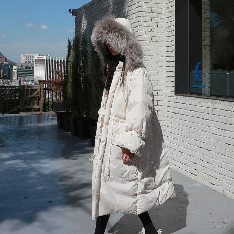 Ob098 Chaud Au Beige Manches Femmes 2019 Le Poches Burr Côté Vers Nouveau Bas Mode Printemps Bouton Shengpalae Veste À Capuche Long Plein Garder AvP1wWq