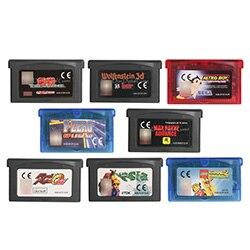 32 Bit Handheld Console Video Game Cartridge Card Wolfenstein 3D EU Version